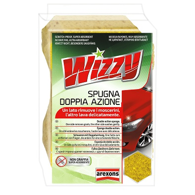 Wizzy Double Action Sponge