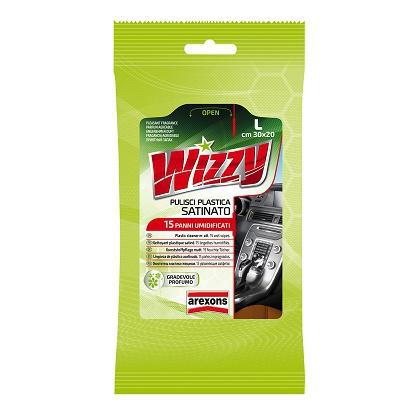 Wizzy Rinnova Pelle Da Auto 15 Salviette