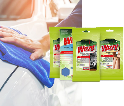 Wizzy wet wipes